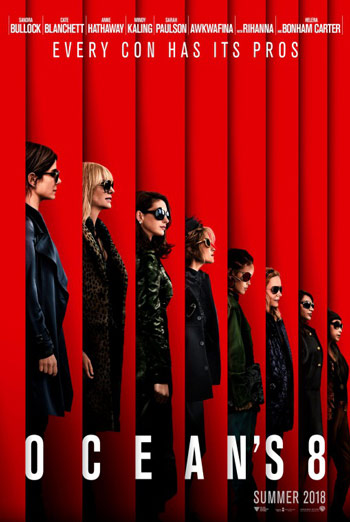 Ocean's 8 (IMAX) movie poster