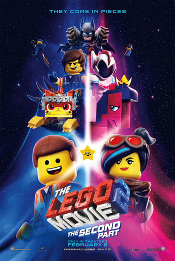 Lego Movie 2: The Second Part - in theatres 02/08/2019