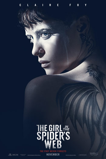 Girl In The Spider's Web, The movie poster