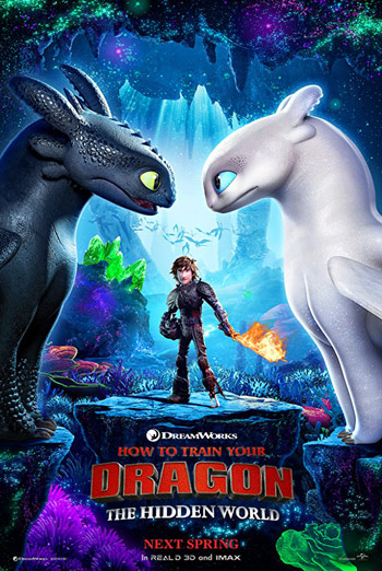 How To Train Your Dragon 3: Hidden World - in theatres 02/22/2019
