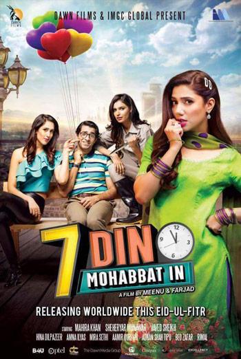 7 Din Mohabbat In (Urdu W/E.S.T) movie poster