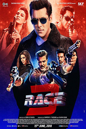 Race 3 (Hindi W/E.S.T) movie poster