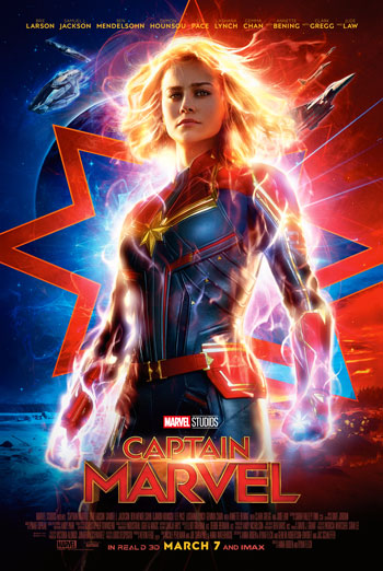 Captain Marvel - in theatres 03/08/2019