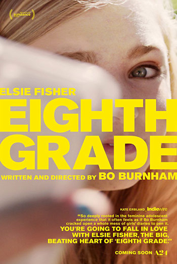 Eighth Grade - in theatres 07/13/2018