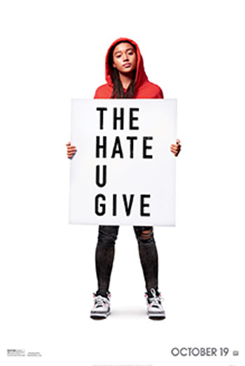 Hate U Give, The movie poster
