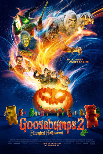 Goosebumps: Haunted Halloween - in theatres 10/12/2018
