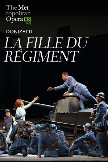 La Fille du Régiment  (MET 18/19) movie poster
