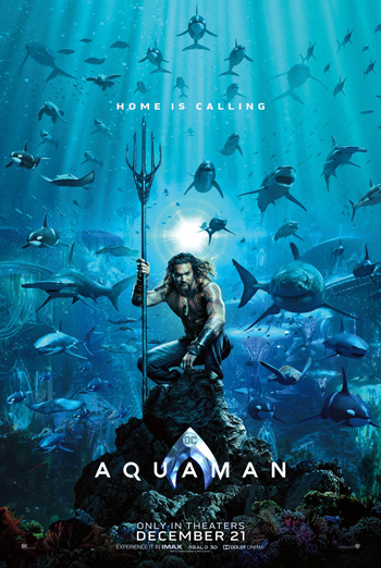 Aquaman - in theatres soon