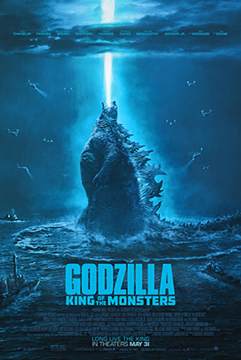 Godzilla: King of the Monsters movie poster