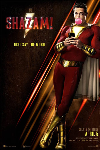 Shazam! - in theatres 04/05/2019