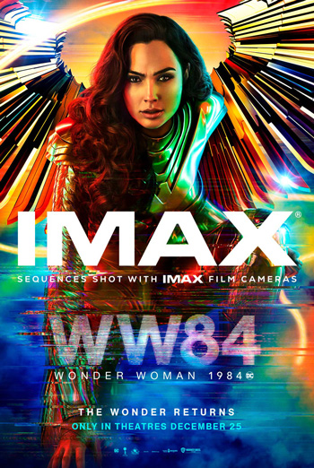 Wonder Woman 1984 (IMAX) movie poster