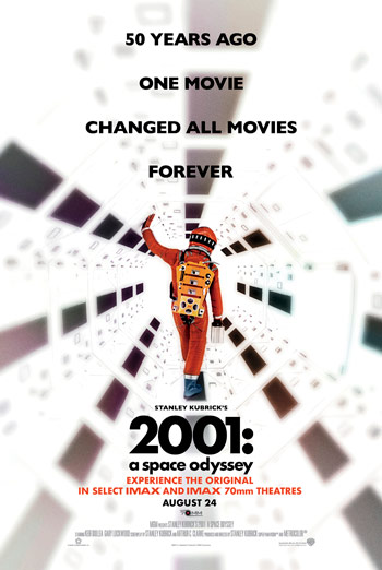 2001: A Space Odyssey (IMAX) movie poster