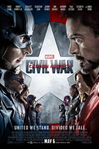 Marvel Studios 10th: Captain America: Civil War (IMAX) - in theatres 08/30/2018