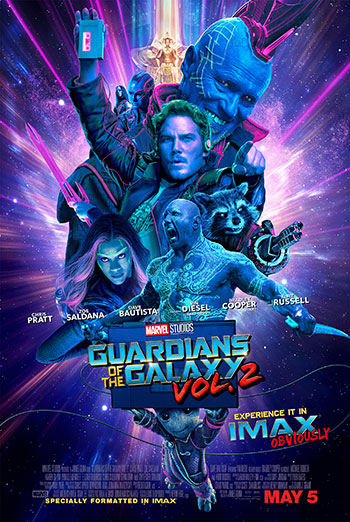 Marvel Studios 10th: Guardians of the Galaxy Vol. 2 (IMAX 3D)  - in theatres 08/30/2018