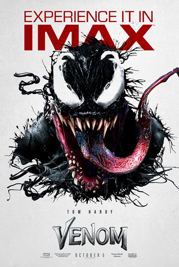 Venom (IMAX) movie poster