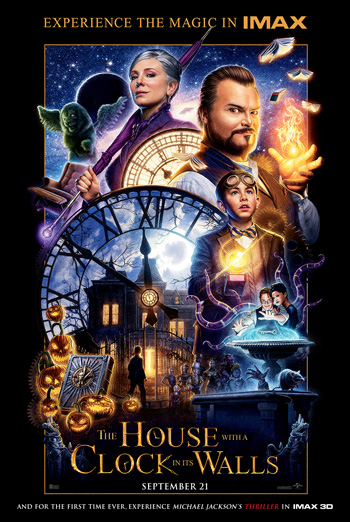 House With A Clock In It's Walls(w/Thriller)(IMAX) - in theatres 09/21/2018
