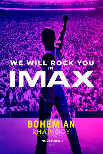 Bohemian Rhapsody (IMAX) movie poster