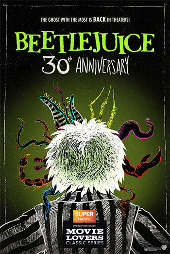 Beetlejuice (Classic Film Series) movie poster