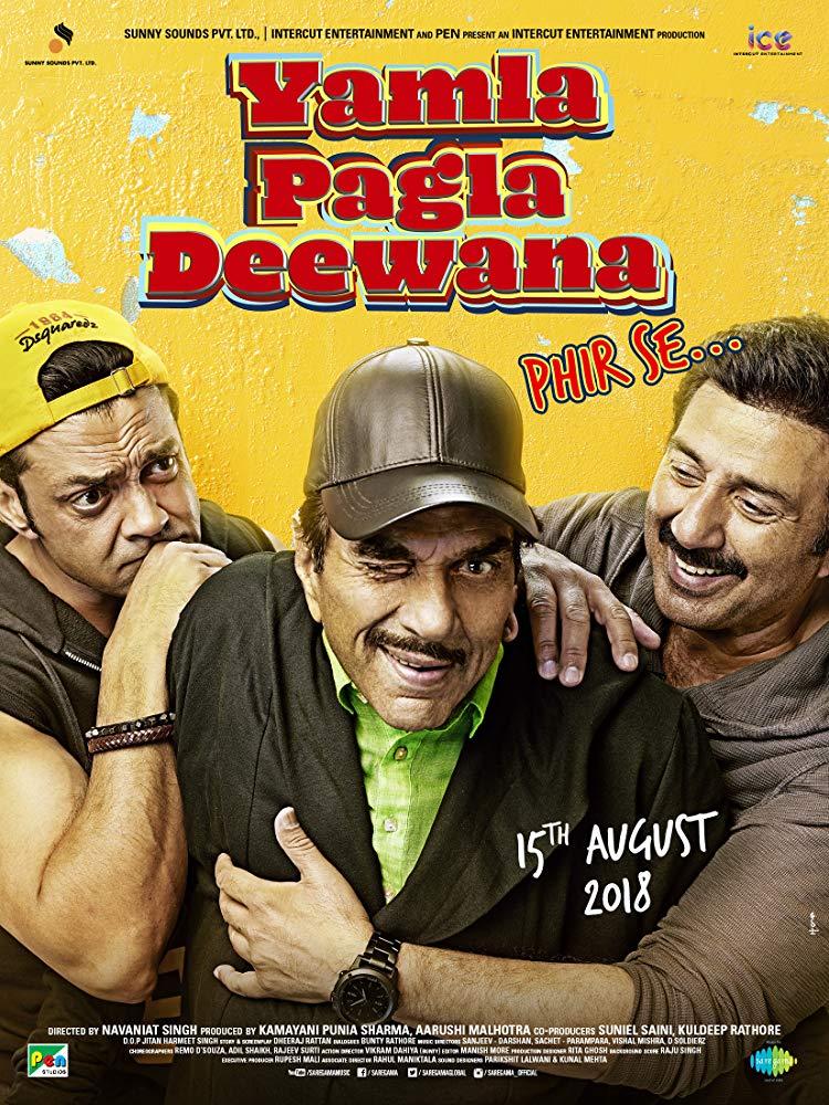 Yamla Pagla Deewana Phir Se (Hindi W/E.S.T) movie poster