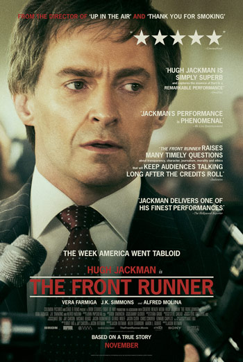 Front Runner, The movie poster