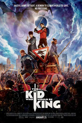 Kid Who Would Be King, The movie poster