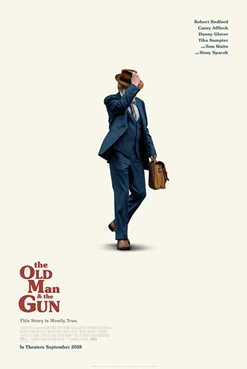 Old Man & The Gun, The movie poster