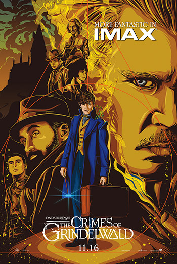 Fantastic Beasts: The Crimes of Grindelwald (IMAX) - in theatres 11/16/2018