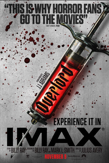 Overlord (IMAX) - in theatres 11/09/2018