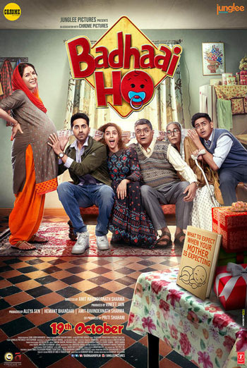 Badhaai Ho (Hindi W/E.S.T.) - in theatres 10/19/2018