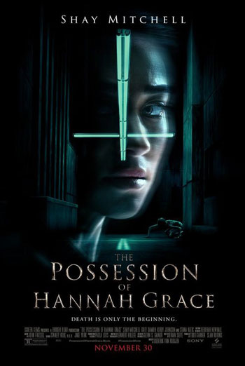Possession of Hannah Grace, The movie poster