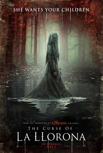 Curse of La Llorona, The movie poster