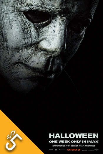 Halloween (2018)(IMAX) movie poster