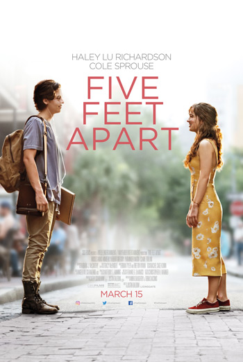 Five Feet Apart - in theatres 03/15/2019