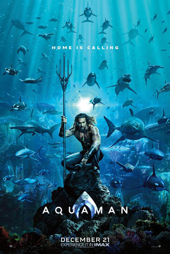 Aquaman (IMAX) movie poster