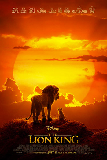 Lion King, The - in theatres 07/19/2019