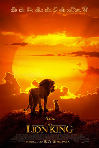 Lion King, The movie poster