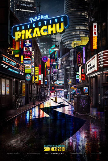 Pokemon Detective Pikachu - in theatres soon