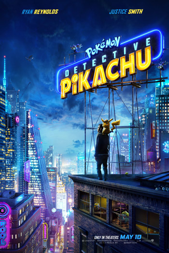 Pokemon Detective Pikachu - in theatres 05/10/2019