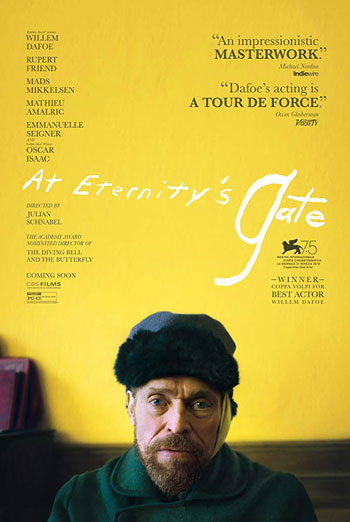 At Eternity's Gate movie poster