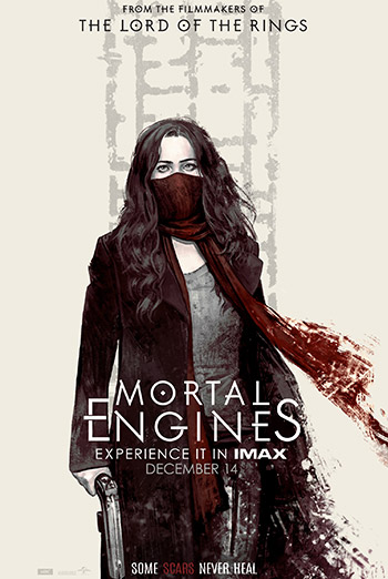 Mortal Engines (IMAX) - in theatres 12/14/2018