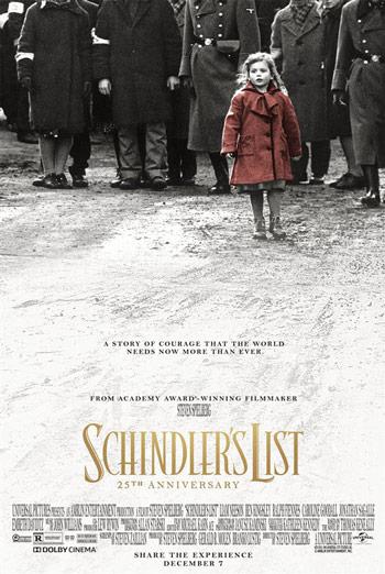 Schindler's List movie poster