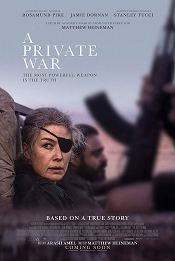 Private War, A movie poster
