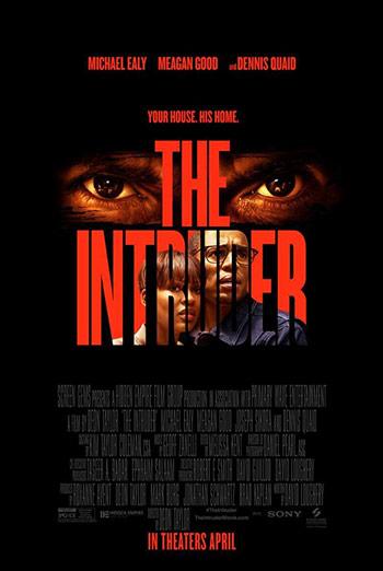 Intruder, The movie poster