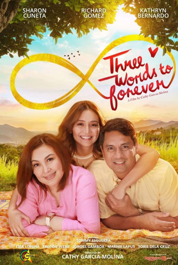 Three Words To Forever (Filipino W/E.S.T.) movie poster
