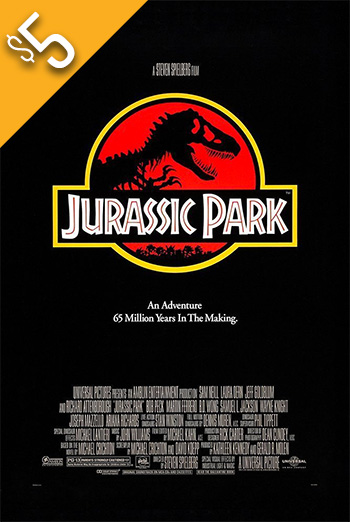 Jurassic Park - in theatres 12/01/2017