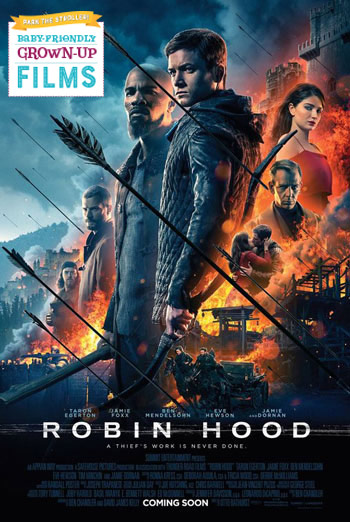 Robin Hood (Park the Stroller) movie poster