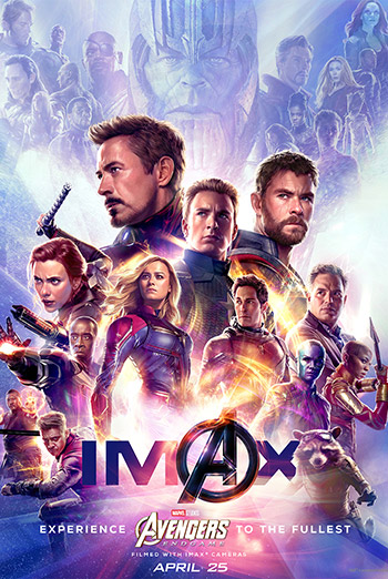 Avengers: Endgame (IMAX) - in theatres 04/26/2019