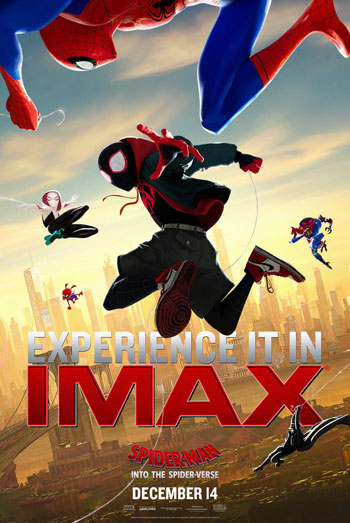 Spider-Man: Into the Spider-Verse (IMAX) - in theatres 12/14/2018
