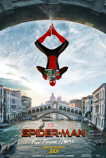 Spider-Man: Far From Home - in theatres 07/02/2019