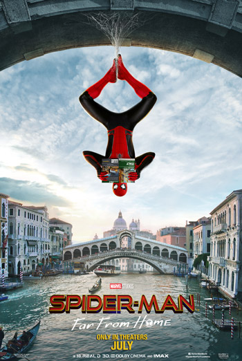 Spider-Man: Far From Home movie poster